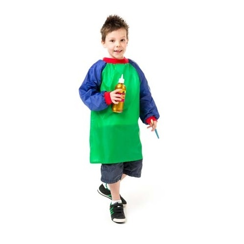 Junior Artist Smocks Green Ages 5-8