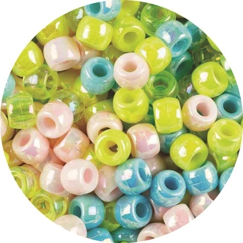 Pony Beads Pearl Colours 1000pcs