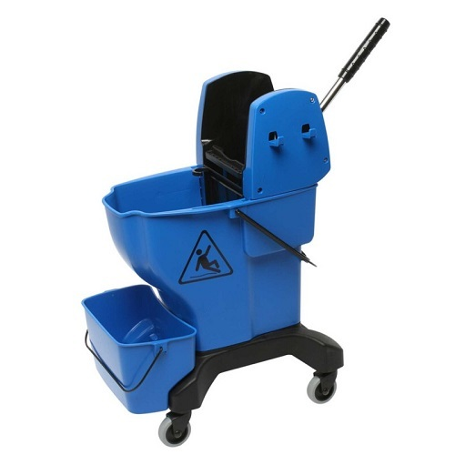 Edco Enduro Press Wringer and Bucket 25 Litre Complete Blue