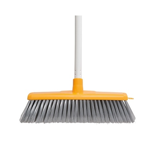 Oates Indoor Broom Head & Handle Yellow