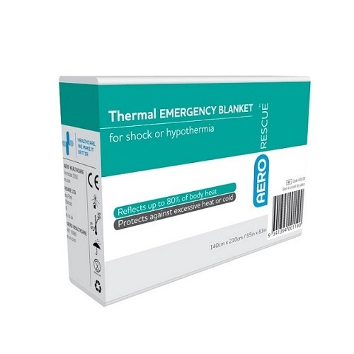 AeroRescue Emergency Thermal Blanket 140 x 210