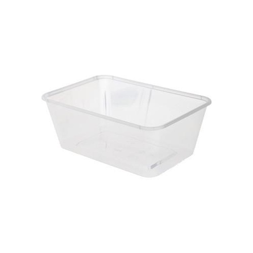 BONSON Microwavable Rectangular Container 750ml Ctn( 50 x 10)
