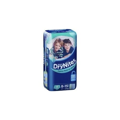 Huggies Drynights Boy 8-15Yrs (27-57Kg) Pk9