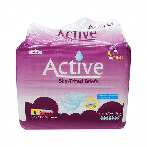 Active Slip Night Large Pk 14