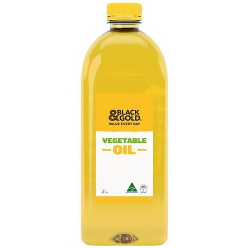 Black & Gold Vegetable Oil 2L