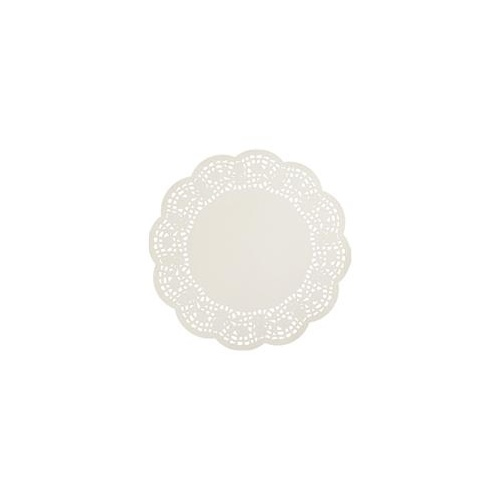 Castaway Paper Doyleys Lace Round 8 Inch 215mm Pk 250