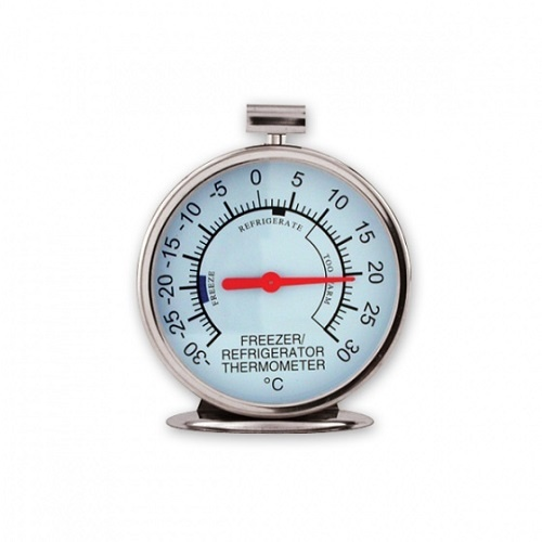 Fridge / Freezer Thermometer Stainless Steel