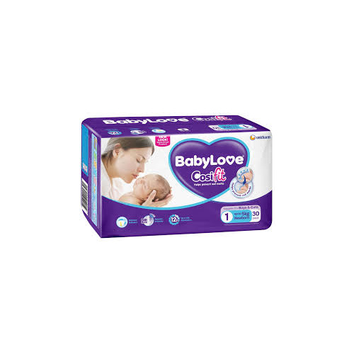 BabyLove Nappy Newborn  (up to 5kg) Ctn 120