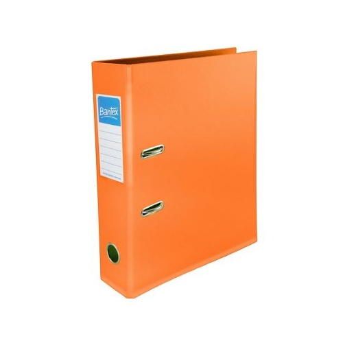 Bantex A4 Binder Lever Arch 70mm Orange