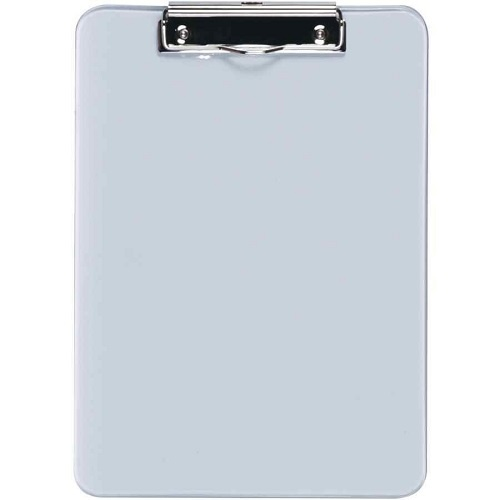 Esselte Solid Plastic A4 Clipboard Clear (40214)