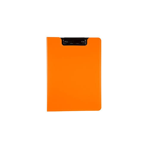 Foolscap Clip Folder PE Orange
