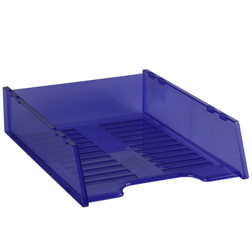 A4 Multi Fit Document Tray -Tinted Purple
