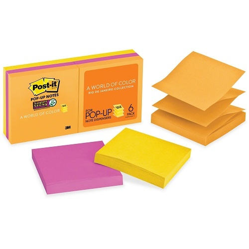 Post-It Pop-Up Notes R330-6SSUC 76 x 76 mm Ultra 6 Pack